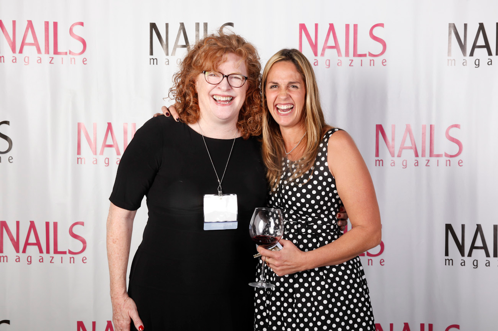 <p>Cyndy Drummey and Eastern sales manager Mary Baughman</p>