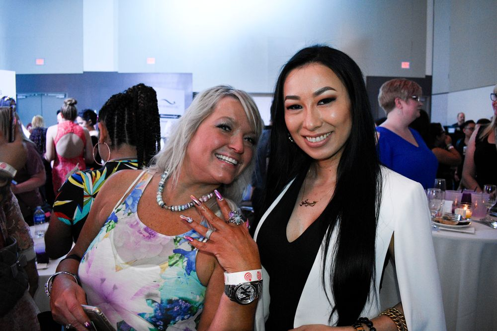 <p>Victoria Zegarelli and Ryoko Garcia</p>