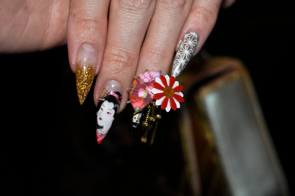 <p>Nails by NTNA season 1 winner Ryoko Garcia</p>