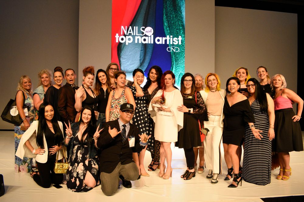 <p>Five seasons of NAILS Next Top Nail Artist contestants</p>