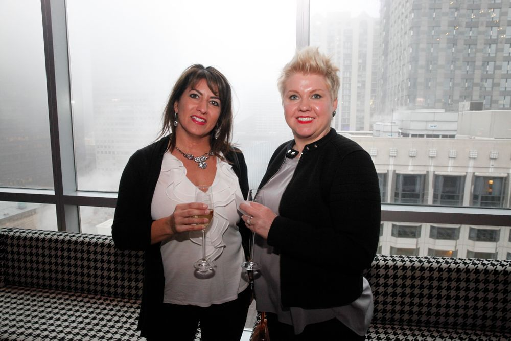 <p>Sarah Jessen and Cymbre Bistodeau</p>