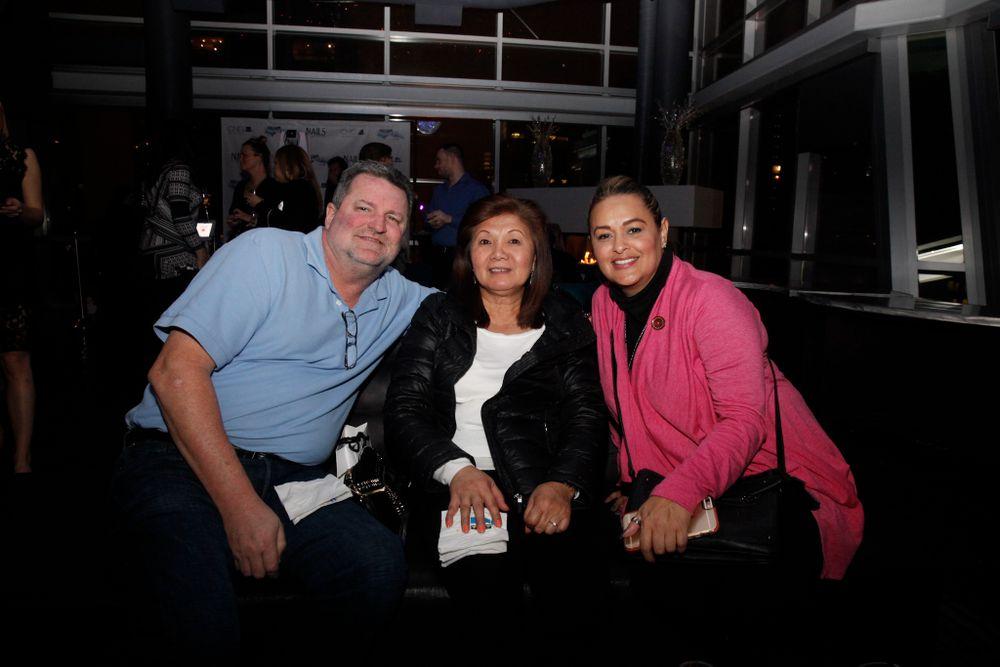 <p>CND's Jerry Clonts, Susan Perea, and Ozzie Blanco</p>