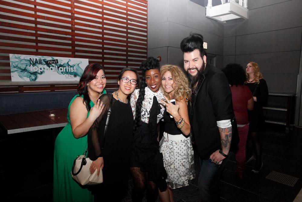 <p>NAILS' Sig Nunez, Yuiko Sugino, NTNA 2015 winner Lavette Cephus, NAILS Danielle Parisi, Nellie Neal</p>