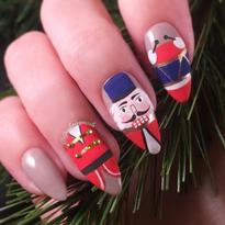 19 Nutcracker Nail Art Designs