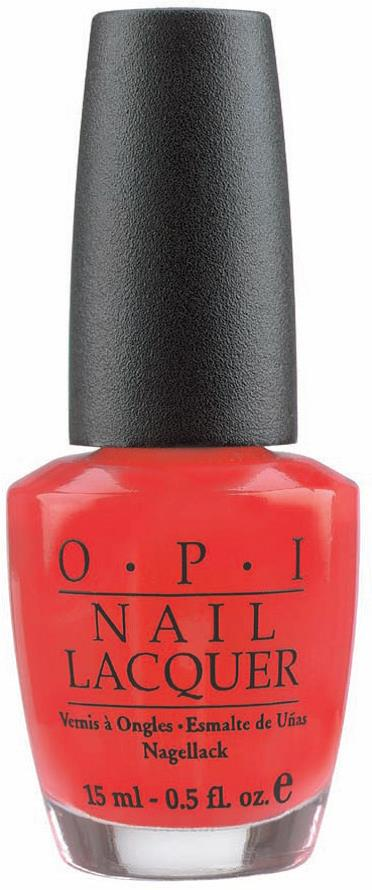 <p><strong>2004 Favorite Polish/Nail Color: OPI Nail Lacquer</strong></p> <p>2nd: Essie Cosmetics Polish; 3rd: China Glaze Polish; 4th: Creative Nail Design Nail Enamel; 5th: Orly International Polish</p>