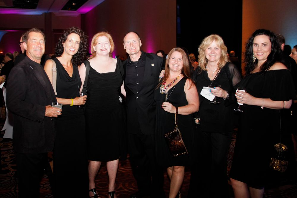 <p>NAILS Magazine is owned by Bobit Business Media. Here our president Ty Bobit with Star's Christina Jahn, NAILS publisher Cyndy Drummey, Michael Kirk, Hannah Lee, and Star's Patricia Freund and Elaine Watson</p>
