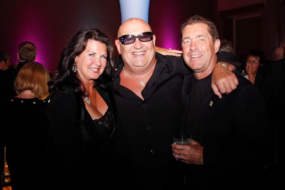 <p>Nadine Bobit, Tony Cuccio and Ty Bobit</p>
