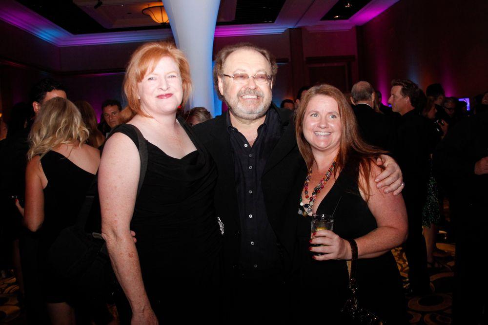 <p>Cyndy Drummey, George Schaeffer and Hannah Lee</p>