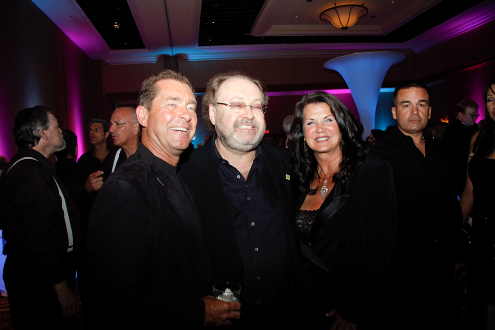 <p>Ty Bobit, George Schaeffer and Nadine Bobit</p>