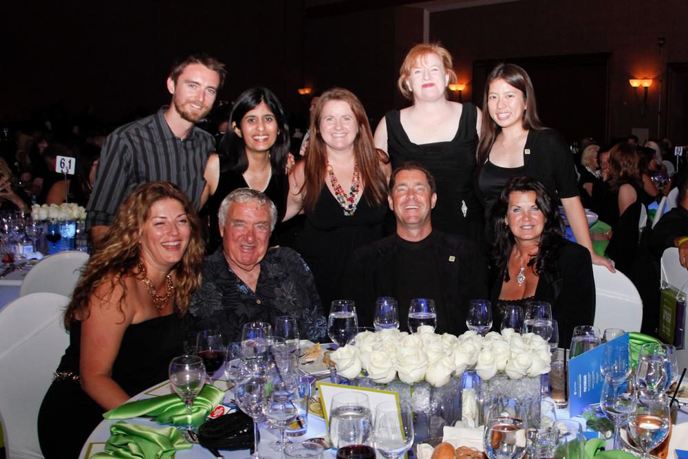 <p>The NAILS Team. (Back row: Tim Crowley, Sree Roy, Hannah Lee, Cyndy Drummey, Kim Pham. Front row: Michelle Mullen, Ed Bobit, Ty Bobit, Nadine Bobit.)</p>