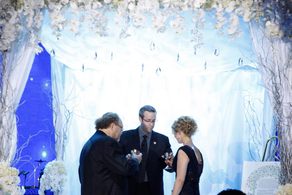 <p>George Schaeffer renewed his vows with wife Irina Afzal</p>