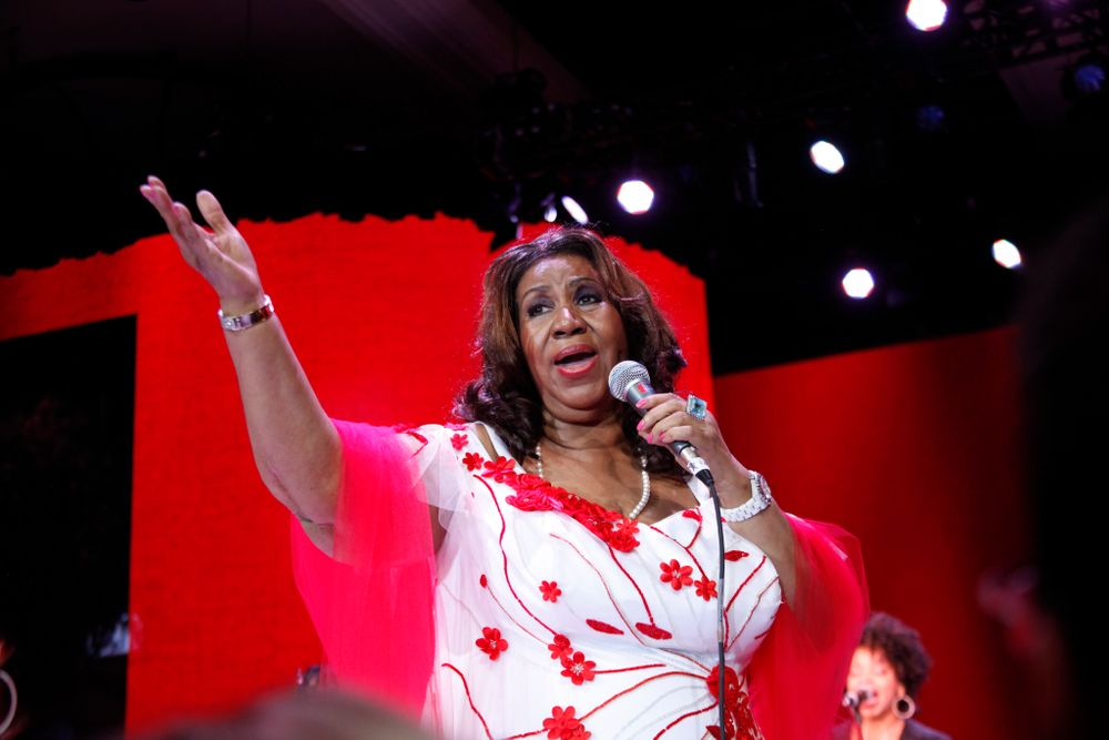 <p>Aretha Franklin</p>