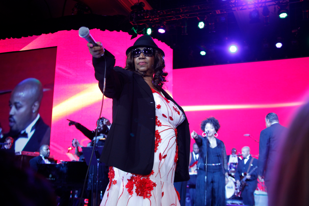 <p>The Queen of Soul</p>