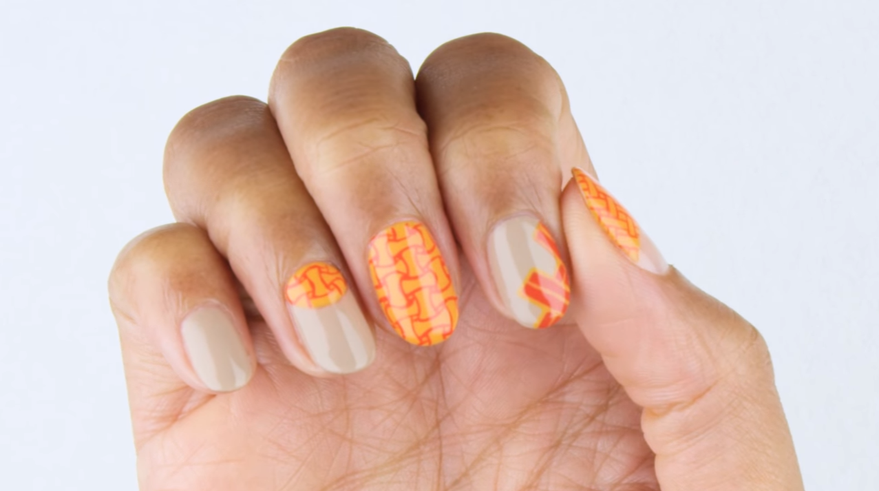 OPI Fiji Weaving Nail Art Tutorial