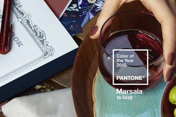 <p>Patone names Marsala as the hue of 2015. The color, robust and earthy red wine, encourages creativity and innovation while enriching the mind, body, and soul.</p>