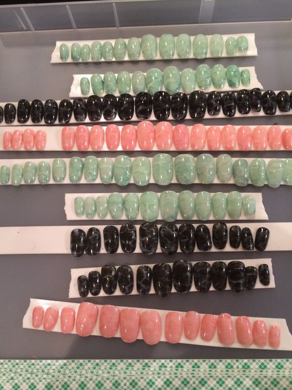 <p>Nail tips created by CND for Opening Ceremony.&nbsp;</p>
