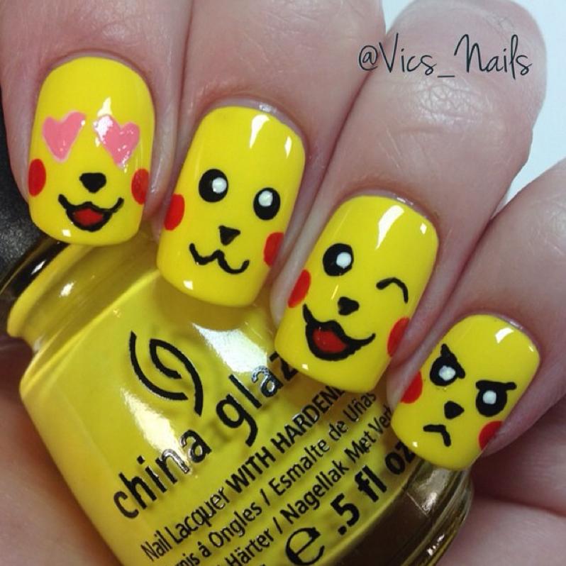 "<p>Pikachu nail art by <a href=""https://www.instagram.com/vics_nails/"">@vics_nails</a></p>"