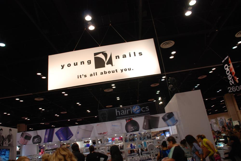<p>Young Nails makes a splash</p>
