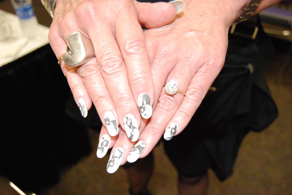 <p>Jan Arnold nail art by Shelena Robinson&nbsp;</p>