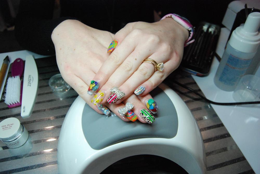 <p>Nail art by Elizabeth Morris</p>