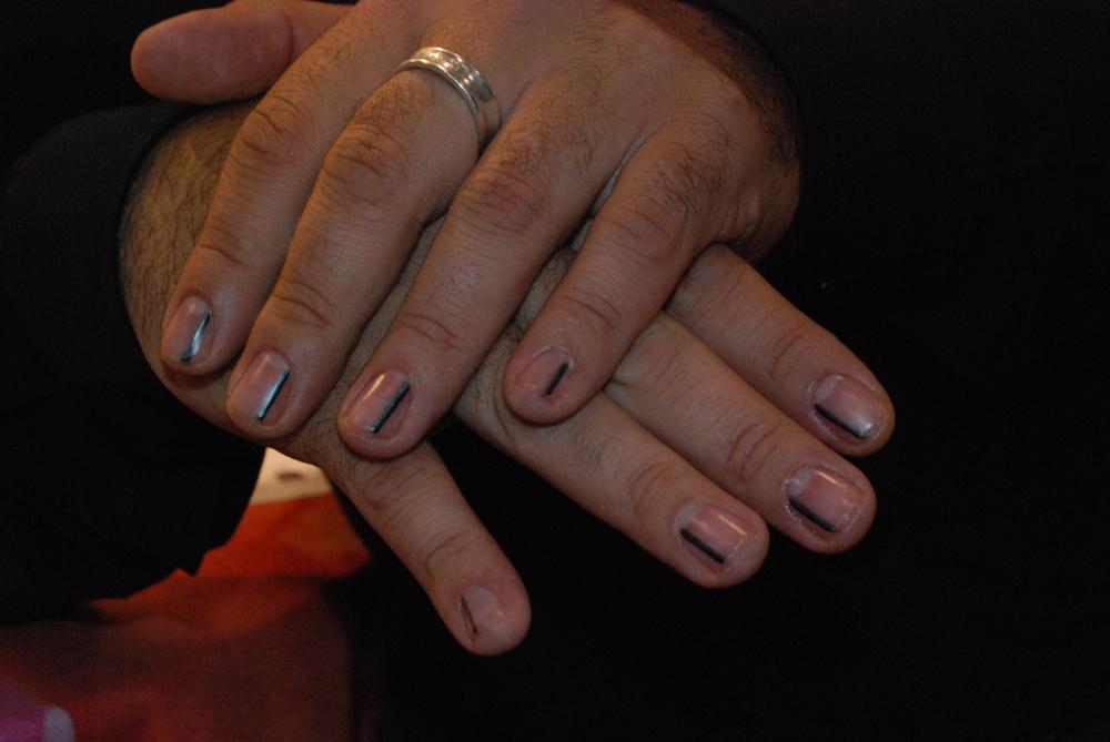 <p>Nails by Gino Trunzo&nbsp;</p>