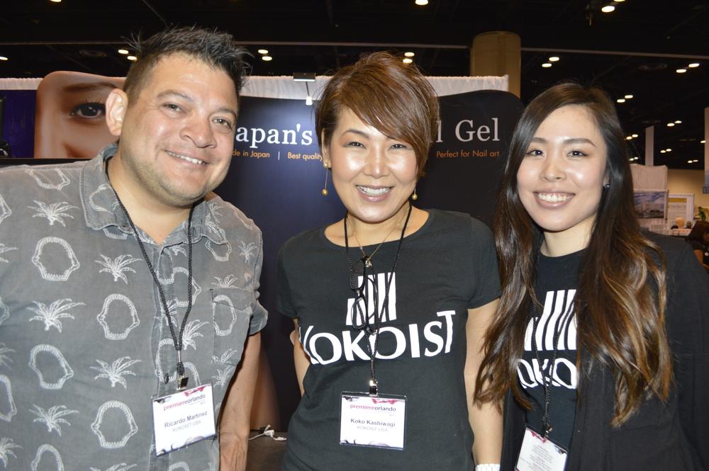 <p>Ricardo Martinez, Koko Kashiwagi, and Iori Iwaza of Kokoist.</p>