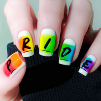 35 Rainbow Pride Nail Art Designs