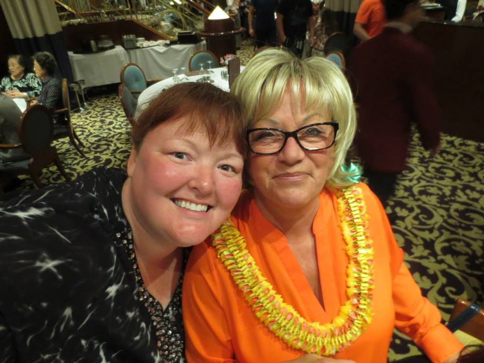 <p>Holly Schippers and Vicki</p>