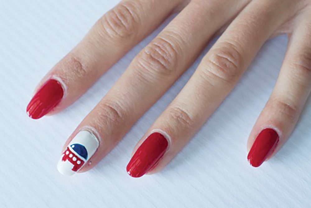 "<p>Republican elephant nail art by Tammy Nguyen, Bellacures, Los Angeles&nbsp;<a href=""http://www.instagram.com/bellacures"">@bellacures</a></p>"