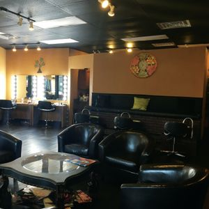 The salon is located on the second floor in Gatlinburg's historic Arts & Crafts Community....
