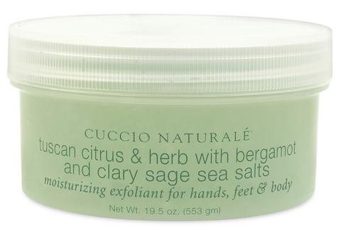 Tuscan Citrus & Herb Sea Salt Scrub