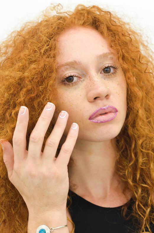 <p>Deco Miami's nail team was led by Elina Ogawa, with Delia Caruso, Evelyn Lim, and Brittania Bell.</p>