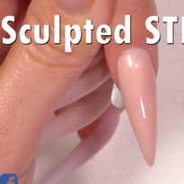 How to Sculpt a Stiletto Nail