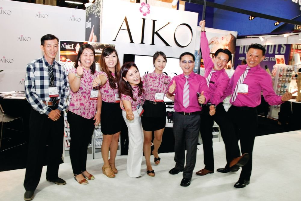 <p>Aiko USA&rsquo;s Khiem Hoang, Chi Nguyen, An Doan, Tracey Tran, Kristine Nguyen, John Trinh, Timmy Trinh, and Kevin Nguyen celebrated another year at the show.</p>