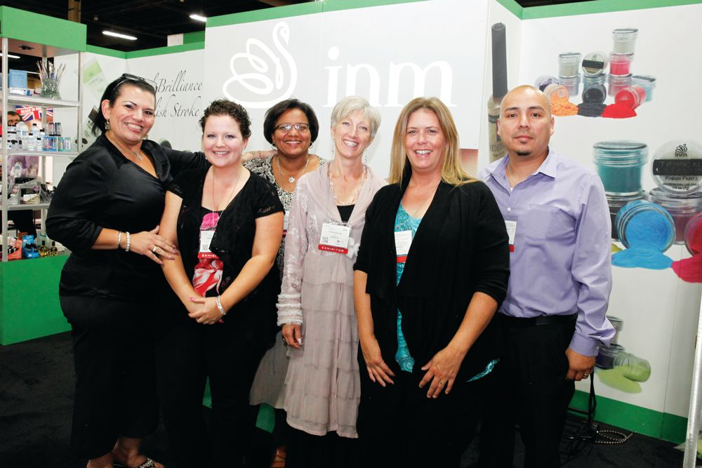 <p>NM&rsquo;s Lorena Marquez, Christina Cronk-Greene, Grace Pajotte, Yvonne Duclos, Tonja Byers, and Mike Jaramillo promoted INM&rsquo;s new website feature, Wear It.</p>