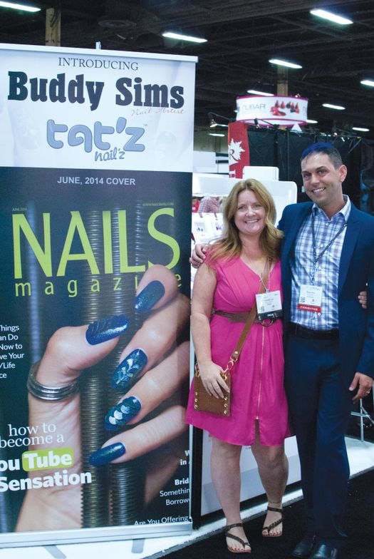 <p>NAILS editor Hannah Lee and June cover artist Buddy Sims talk about what Tat&rsquo;z can do for nail art.</p>