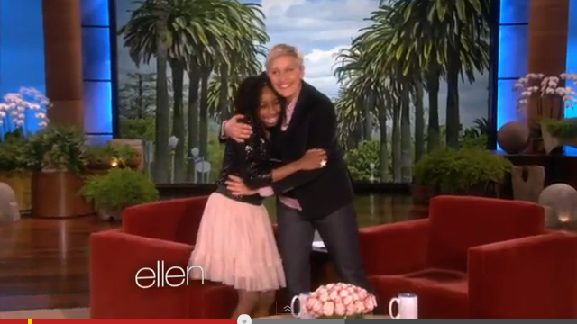Alanna Wall and Polished Girlz on The Ellen Show