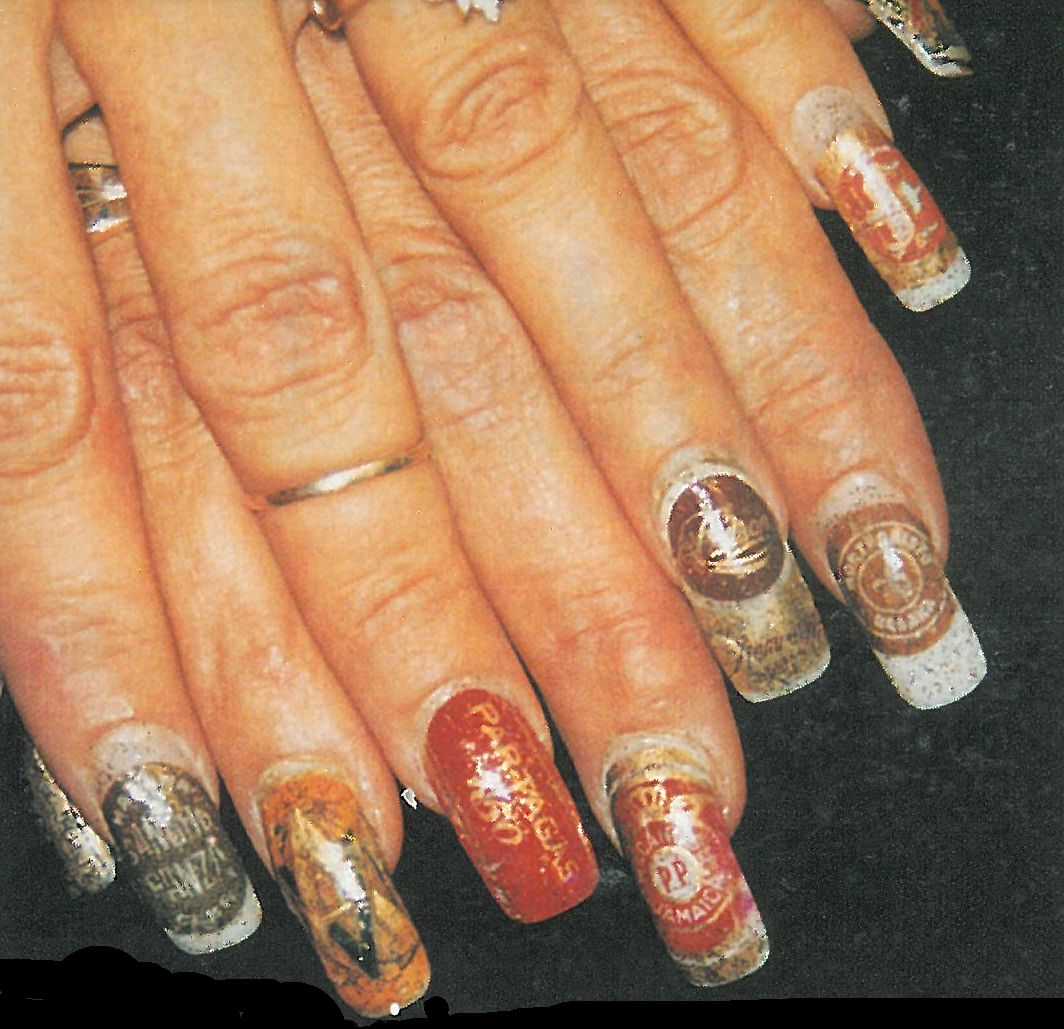 Her Nails Are Smokin'