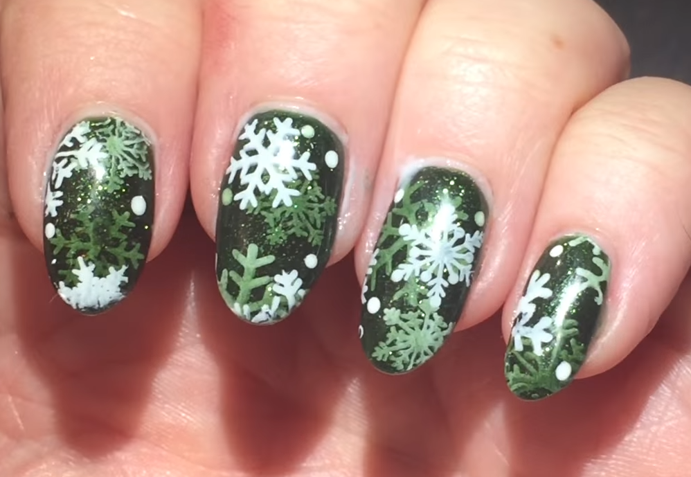 3-D Snowflake Stamping with Gelibility