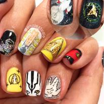 Boldly Go with Star Trek Nail Art
