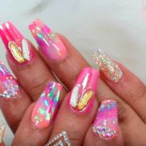 Easy Summer Acrylic Nails