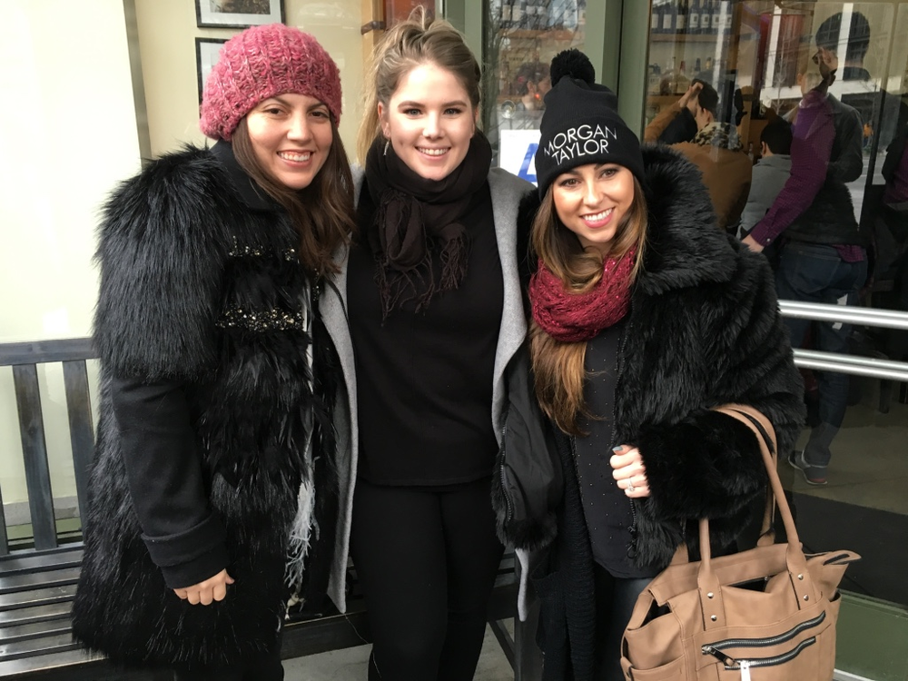 <p>Started off NYFW with breakfast with the Morgan Taylor team. Check out Morgan's beanie!!</p>