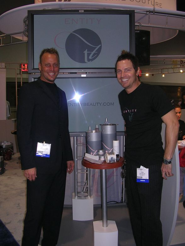"""<p>""""The Two Toms"""" founded Entity Beauty in 2005.</p>"""