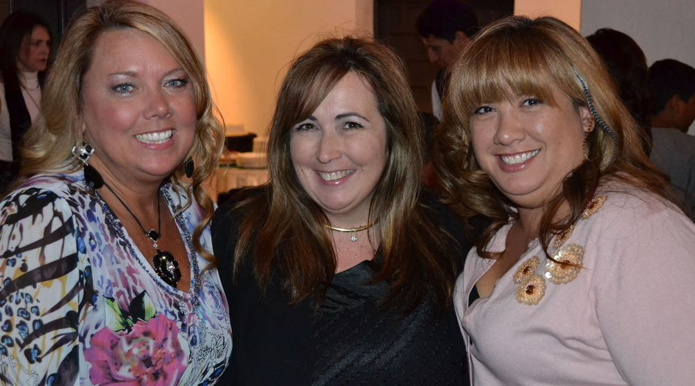 <p>Vicki, Gari-Dawn Tingler, and MaeLing Parrish all worked with Tom at EZ Flow.</p>