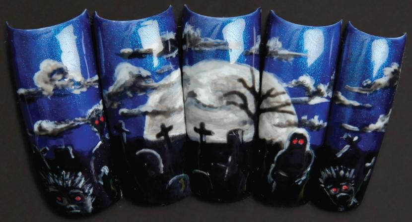 Nails to Die For: Scary Nail Art for Halloween - Nail ...