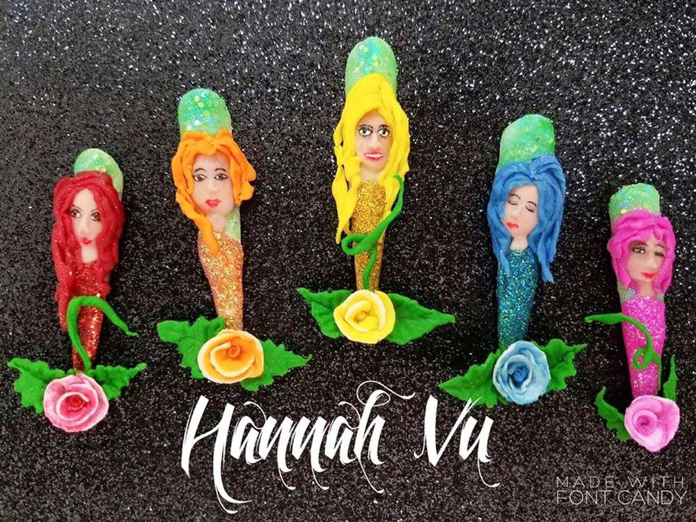 "<p>Nails by Hannah Vu for the <a href=""http://www.viet-salon.com"">VietSALON</a> Nail Artistry Competition</p>"