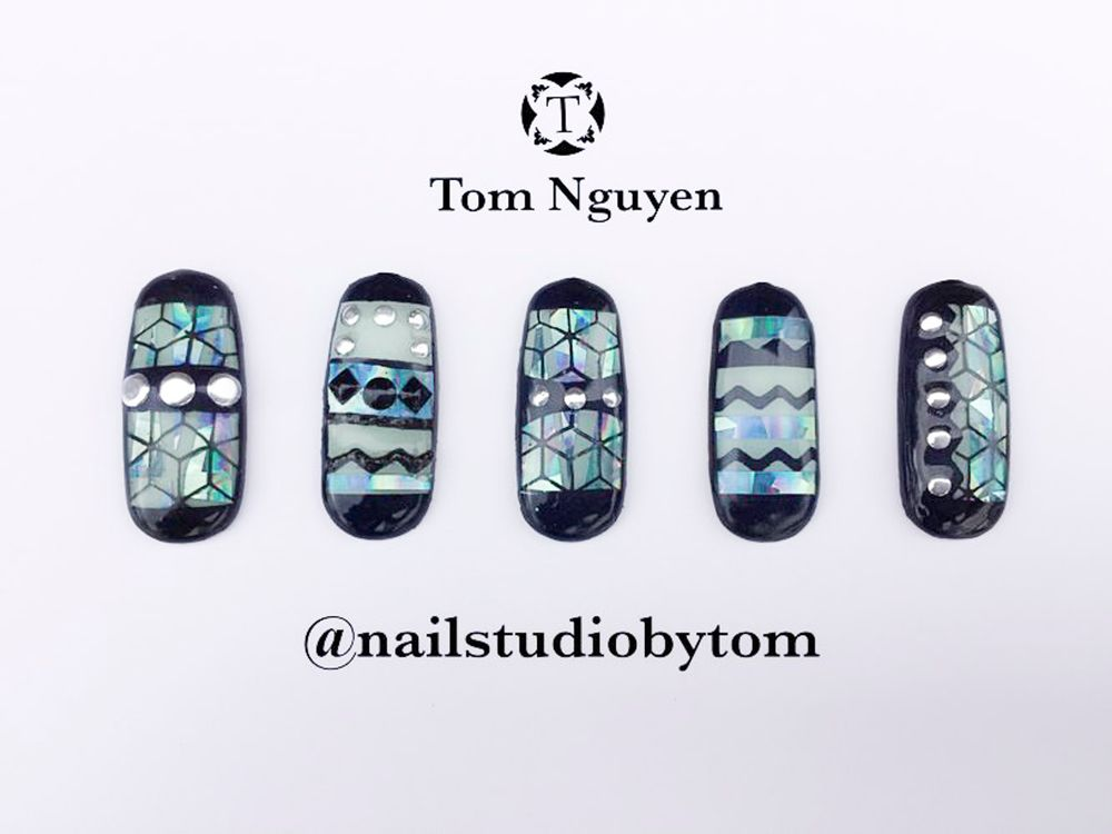 """<p>Nails by Tom Nguyen for the <a href=""""http://www.viet-salon.com"""">VietSALON</a> Nail Artistry Competition</p>"""