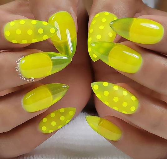 25 Summery Yellow Manicures