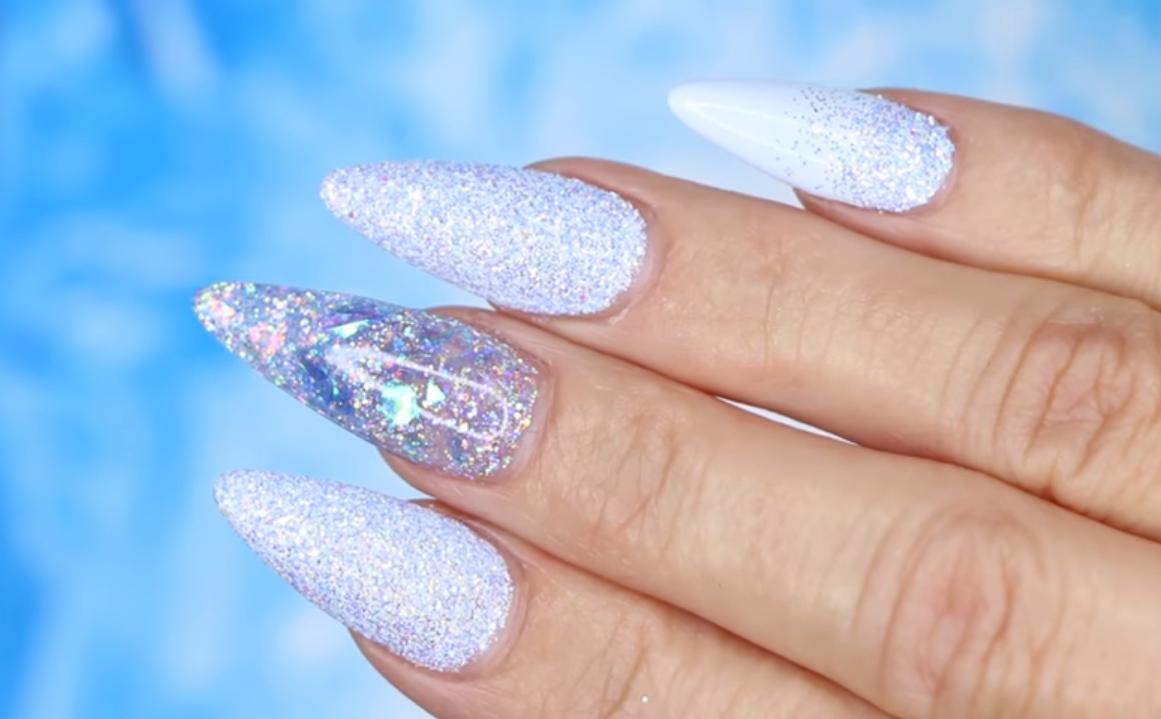 Young Nails Vlog #112: Frozen Ice Nails