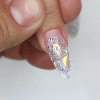 Young Nails Nail School: How to Fill a Glitter Art Nail